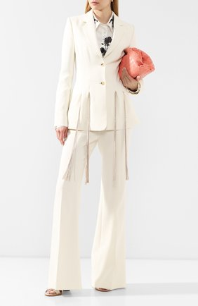 Женский шерстяной жакет GABRIELA HEARST белого цвета, арт. 320509 W026 | Фото 2