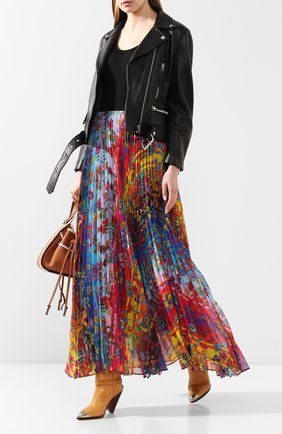 Женская юбка-макси GOLDEN GOOSE DELUXE BRAND разноцветного цвета, арт. G36WP016.A1 | Фото 2