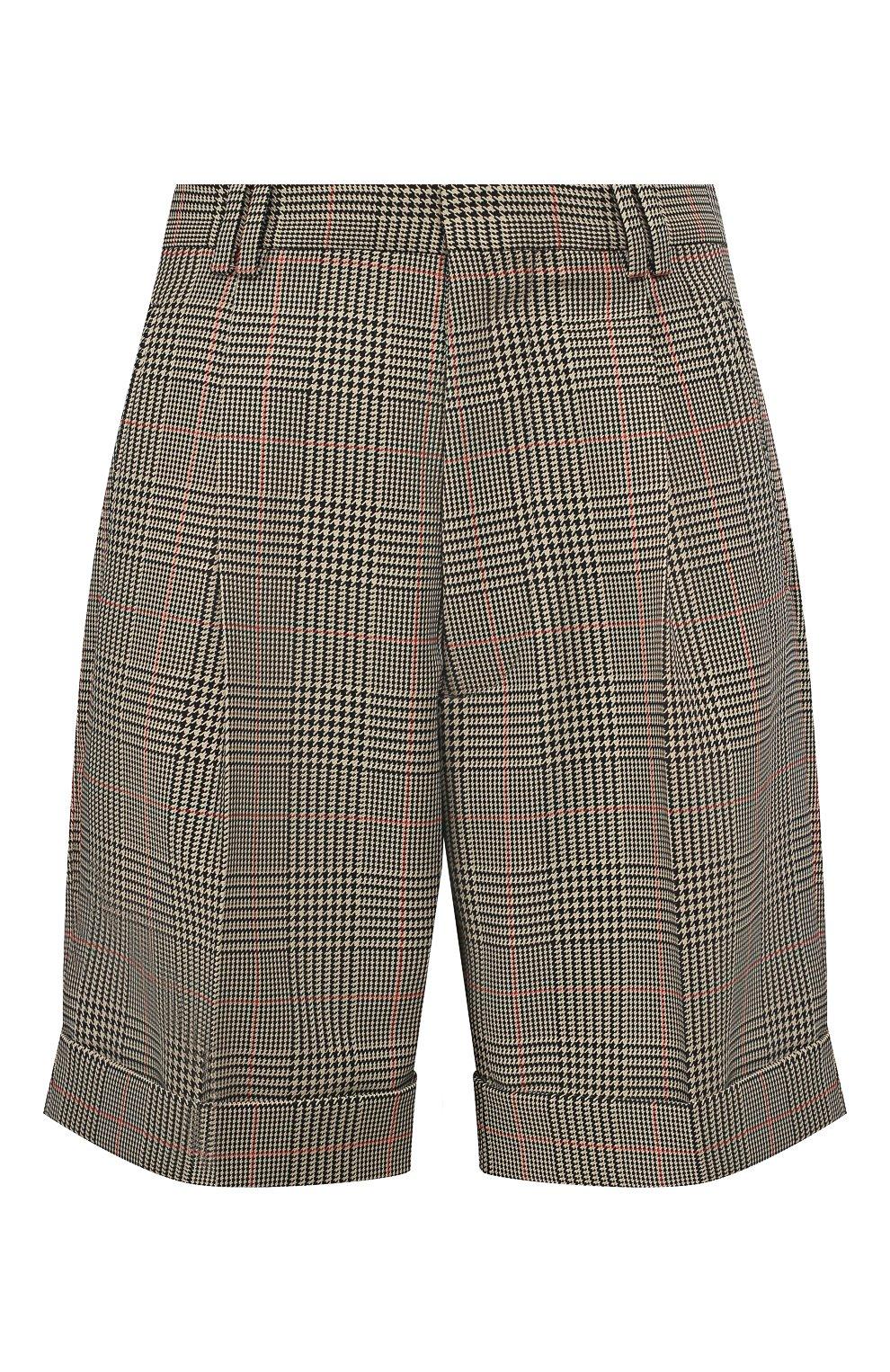 Женские шорты MAISON MARGIELA коричневого цвета, арт. S51MU0051/S52581 | Фото 1