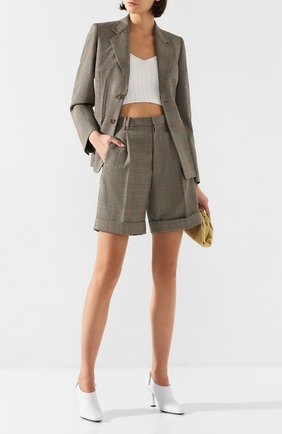 Женские шорты MAISON MARGIELA коричневого цвета, арт. S51MU0051/S52581 | Фото 2