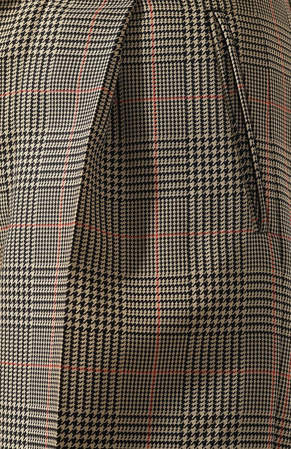 Женские шорты MAISON MARGIELA коричневого цвета, арт. S51MU0051/S52581 | Фото 5
