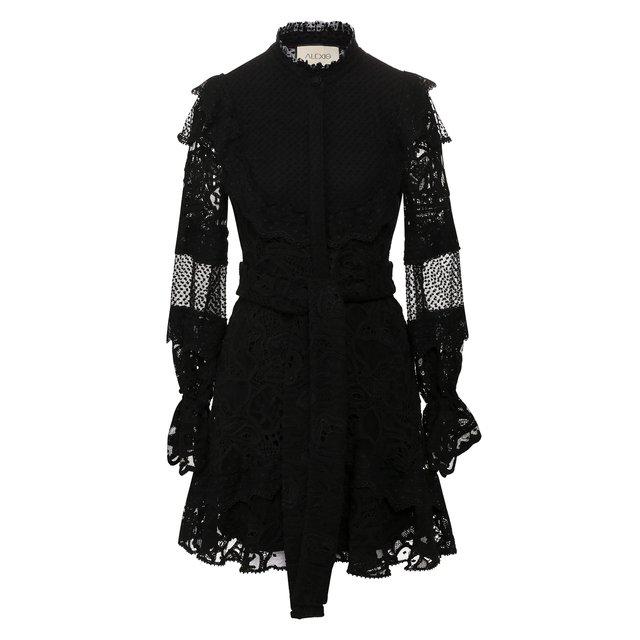 Платье с поясом Alexis