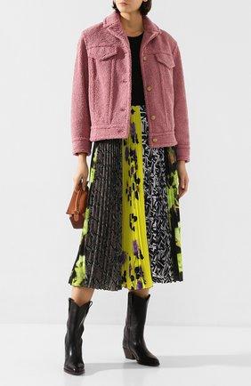 Женская куртка VINCE розового цвета, арт. V632891138 | Фото 2
