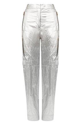 Женские брюки PHILOSOPHY DI LORENZO SERAFINI серебряного цвета, арт. A0303/741 | Фото 1