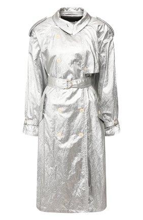 Женский тренч PHILOSOPHY DI LORENZO SERAFINI серебряного цвета, арт. A0608/741 | Фото 1