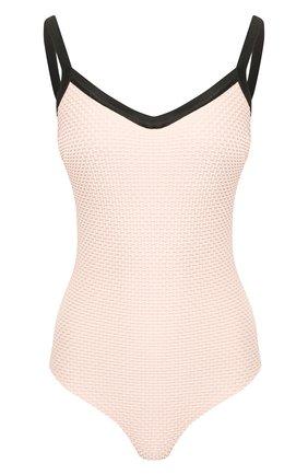 Женский слитный купальник FISICO розового цвета, арт. P0/F/FC60RG | Фото 1