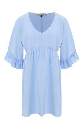 Женское шелковое платье FISICO голубого цвета, арт. P0/F/FV29H0 | Фото 1