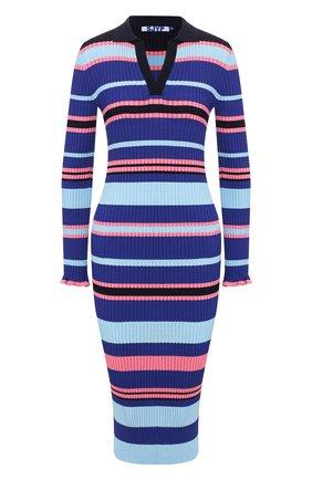 Женское платье STEVE J & YONI P темно-синего цвета, арт. PW2A1K-0P019W   Фото 1
