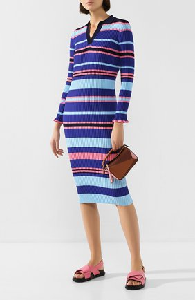 Женское платье STEVE J & YONI P темно-синего цвета, арт. PW2A1K-0P019W   Фото 2