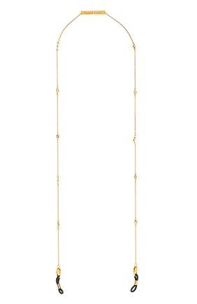 Мужские цепочка для очков FRAME CHAIN золотого цвета, арт. SHINE BRIGHT YELLOW | Фото 1