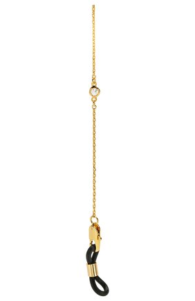 Мужские цепочка для очков FRAME CHAIN золотого цвета, арт. SHINE BRIGHT YELLOW | Фото 2