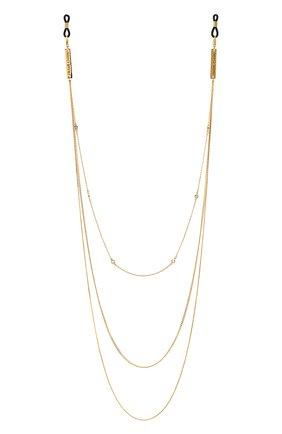 Женские цепочка для очков FRAME CHAIN золотого цвета, арт. IN CHAINZ | Фото 1