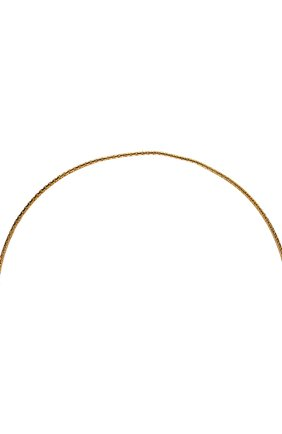 Женские цепочка для очков FRAME CHAIN золотого цвета, арт. DR0P PEARL YELL0W   Фото 3