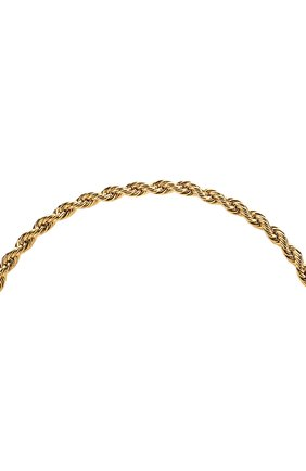 Женские цепочка для очков FRAME CHAIN золотого цвета, арт. R0LLER CHAIN YELL0W | Фото 3