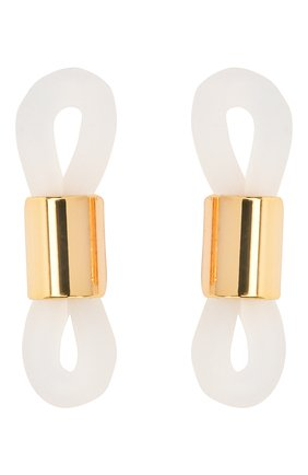 Женские цепочка для очков FRAME CHAIN серебряного цвета, арт. R0LLER CHAIN WHITE   Фото 4 (Тип очков: Цепочка)
