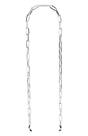 Мужские цепочка для очков FRAME CHAIN серебряного цвета, арт. THE R0N WHITE | Фото 1