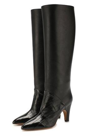 Женские кожаные сапоги rimbaud GABRIELA HEARST черного цвета, арт. 3208008 SCE001 | Фото 1