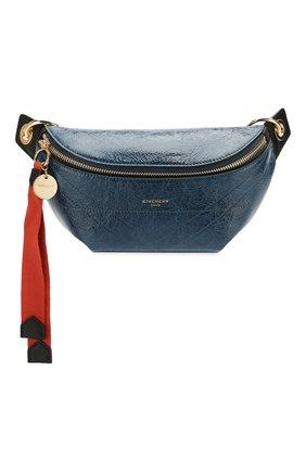 Женская поясная сумка id GIVENCHY синего цвета, арт. BBU00FB0S5 | Фото 1