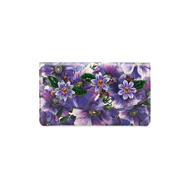 Кожаный кошелек на цепочке Dolce & Gabbana