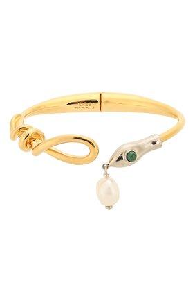 Женская браслет-кафф callie CHLOÉ золотого цвета, арт. CHC20SFB43SNB | Фото 1