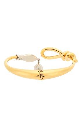 Женская браслет-кафф callie CHLOÉ золотого цвета, арт. CHC20SFB43SNB | Фото 2