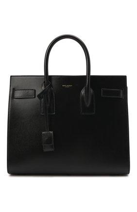 Женская сумка sac de jour small SAINT LAURENT черного цвета, арт. 378299/02G9W | Фото 1