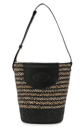 Женская сумка pag TOD'S черного цвета, арт. XBWPAGE020005P | Фото 1
