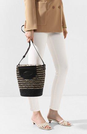 Женская сумка pag TOD'S черного цвета, арт. XBWPAGE020005P | Фото 2