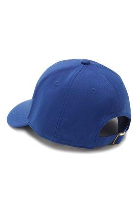 Детская бейсболка MINI RODINI синего цвета, арт. 20265101 | Фото 2