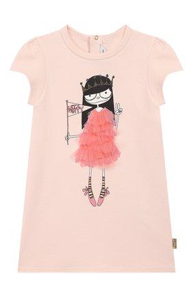 Женский хлопковое платье MARC JACOBS (THE) светло-розового цвета, арт. W02144 | Фото 1