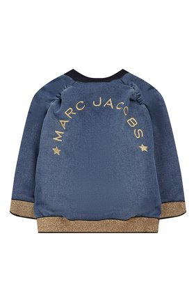 Детского джинсовый бомбер MARC JACOBS (THE) голубого цвета, арт. W06056 | Фото 2