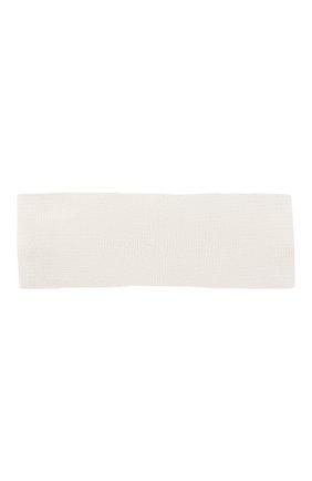 Детская повязка на голову CATYA белого цвета, арт. 014205 | Фото 2