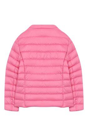 Детского пуховая куртка IL GUFO розового цвета, арт. P20GR150N0035/5A-8A | Фото 2