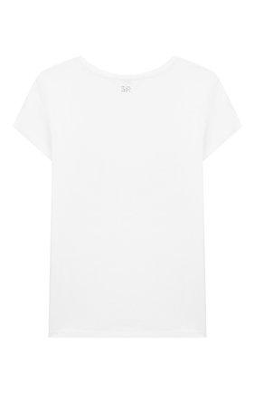 Детская футболка SONIA RYKIEL ENFANT белого цвета, арт. 20S1TS37 | Фото 2