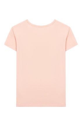 Детская футболка SONIA RYKIEL ENFANT светло-розового цвета, арт. 20S1TS13 | Фото 2