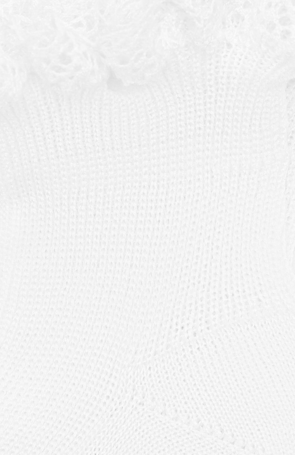 Детские хлопковая носки LA PERLA белого цвета, арт. 43455 | Фото 2