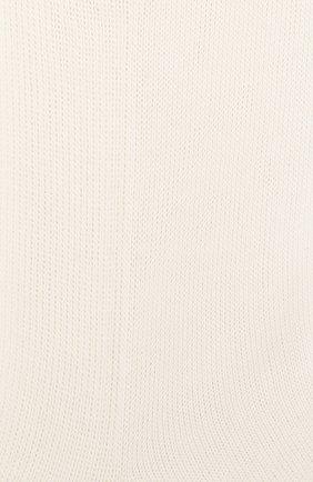 Детские хлопковые носки LA PERLA бежевого цвета, арт. 43455/29-32 | Фото 2