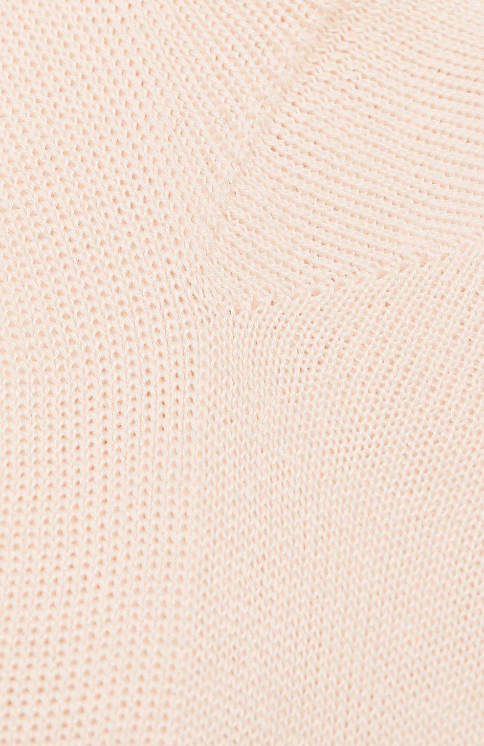 Детские хлопковые носки LA PERLA розового цвета, арт. 43455/17-22 | Фото 2