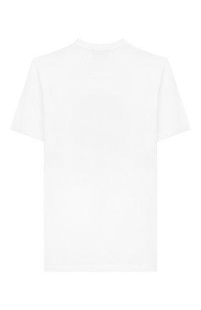 Детская хлопковая футболка STONE ISLAND белого цвета, арт. 721620147/10-12 | Фото 2
