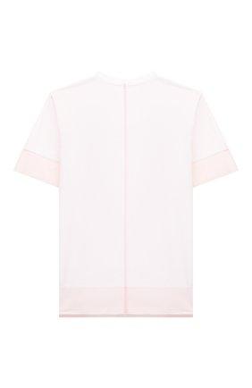 Детская хлопковая футболка SCRAMBLED_EGO белого цвета, арт. BJ105 | Фото 2