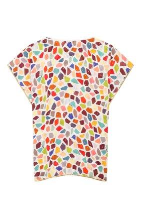 Детская туника MISSONI разноцветного цвета, арт. MBG00035/BW007M/4-6   Фото 2