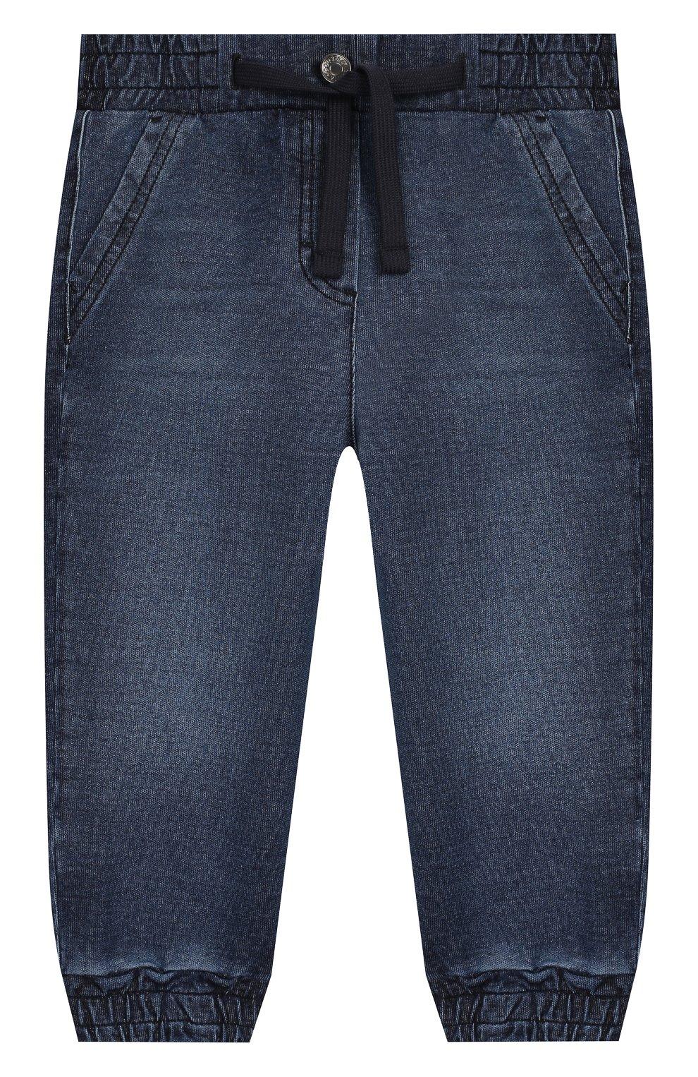 Детские джинсы DOLCE & GABBANA синего цвета, арт. L2JP6M/G7WAA | Фото 1