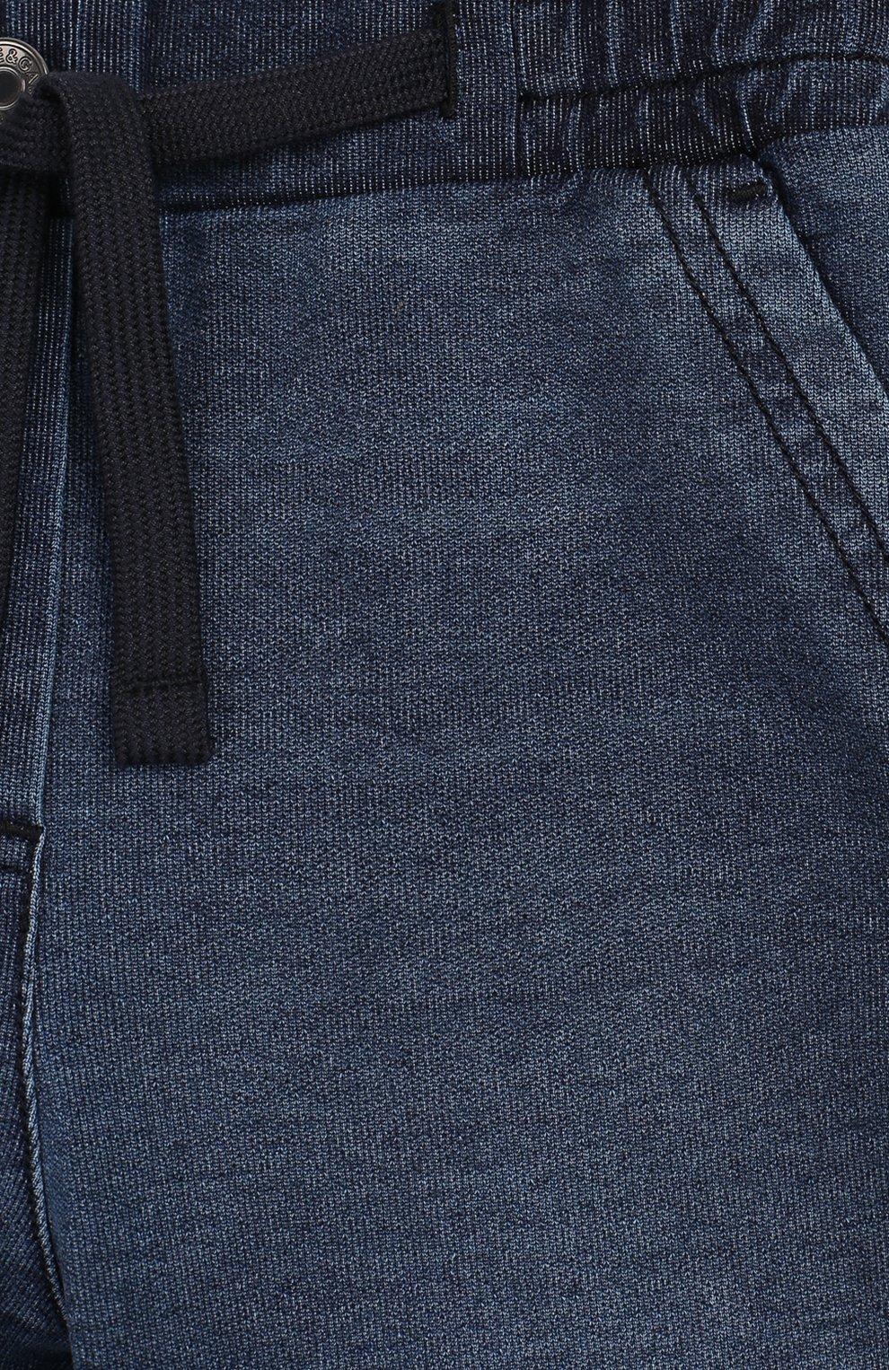 Детские джинсы DOLCE & GABBANA синего цвета, арт. L2JP6M/G7WAA | Фото 3