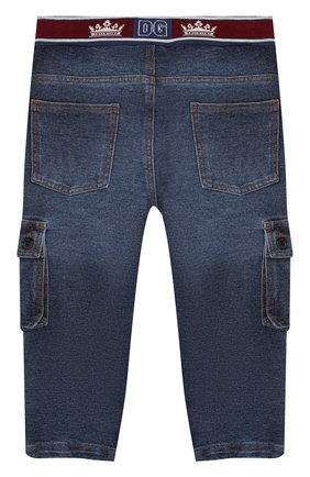 Детские джинсы DOLCE & GABBANA синего цвета, арт. L1JPAV/G7VMW | Фото 2