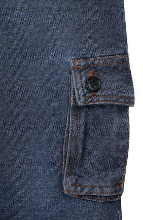 Детские джинсы DOLCE & GABBANA синего цвета, арт. L1JPAV/G7VMW   Фото 3