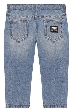 Детские джинсы DOLCE & GABBANA голубого цвета, арт. L12F12/LD875 | Фото 2