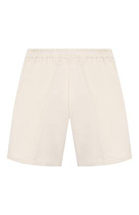 Детские хлопковые шорты GUCCI белого цвета, арт. 600271/XWAIW | Фото 2