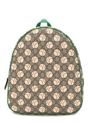 Детская рюкзак GUCCI разноцветного цвета, арт. 433578/HYBAN | Фото 1