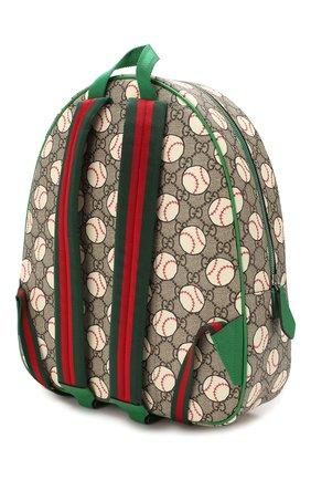Детская рюкзак GUCCI разноцветного цвета, арт. 433578/HYBAN | Фото 2