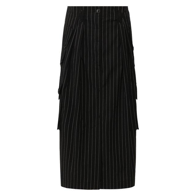 Хлопковая юбка Dries Van Noten